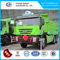 IVECO 10 wheel dump truck capacity,30 ton tipper truck