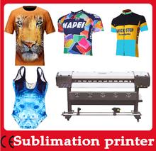 DX7 Digital sublimation printer price for T shirt printing machine