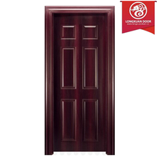 Simple puerta de diseño, por encargo de la fábrica puertas múltiple de madera de chapa de puertas