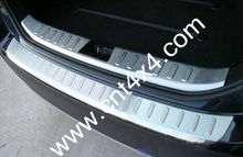 Stainless Steel Boot Garnish/ Rear Bumper Footplate for X3 2012+
