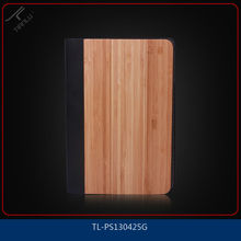 OEM original solid wood&pc&pu material case for ipad mini,rotating combo case