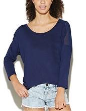 Women's Long Sleeve Dolman Top garments buyer in europe