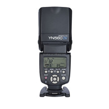 Digital Flash Light Unit Speedlite YN-560 IV Wireless Triggering with Large LCD Panel for Canon, Nikon, Sony, & Cameras