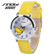 Manufacturer jelly watch custom butterfly dial beautiful ladies watch