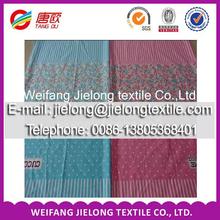 2014 nova colorido flores projeto 100% algodão lençol tecido