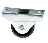Single PP Fix Furniture Small Caster Wheels