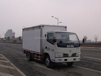 Dongfeng 4x2 90hp commercial van truck for sale