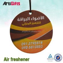 Wholesale hanging room promotional car air freshener