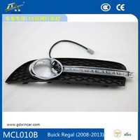 Hottest! LED Daylight Powerful Waterproof LED Running Machine DRL Daytime Running Light For Buick Regal 2008-2013