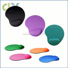 2016 hot selling Custom Silicone / Rubber / EVA /Game / PVC Mouse pads