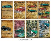 scrapbook paper -cars