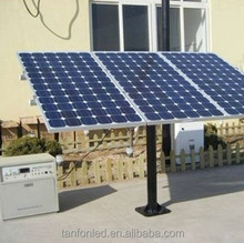 Lower price 10kw PV Module home solar panel kit for grid system Good quality 1200w solar power generator