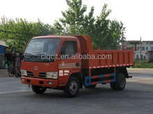 Dongfeng 4x4 mini dump truck , small dump trucks on hot sale