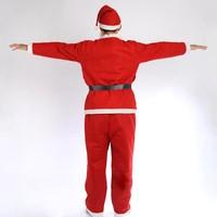 YIwu caddy SDZS-051Unique Christmas Santa Clause/New Year Christmas Santa Clause with velvet garment