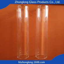 All Size of Clear Borosilicate Glass Tube