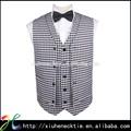 blanco y negro chalecos diseño personalizado para Hombre
