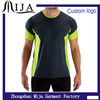 2015 New model custom logo polyester dry fit sports t-shirt
