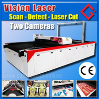 Vision Flying Laser Cutting - Sublimation Textile / Printed Fabric Laser Cutting Machine