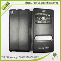 2015 new ultra thin flip stand cover case for Infinix ZERO 2 X509