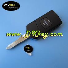 Cheaper 2-button remote key shell for mazda key for mazda key cover