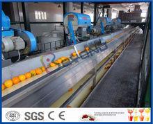 citrus processing line for produce orange juice