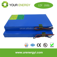 NEW HOT Solar power charge 12V battery 26650 18Ah lithium lifepo4 battery pack for solar /windy systems with long cycle life