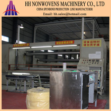 German technology 2400mm S single beam PP spunbond no nwoven fabric making machine production line for shoe cover&curtain
