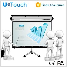 58inch U-Touch multi touch panel lcd monitor/industrial touch pc/Infrared Multi Touch Screen pc
