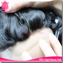 Hot sale 8inch 1B indian men hair toupee wig,hair toupee for men
