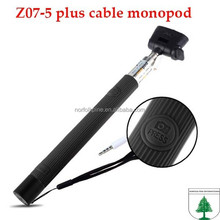 2015 new goods cheap selfie stick wired monopod for mobile phone