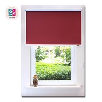 Hot sale durable polyester fabric manual blackout roller blinds