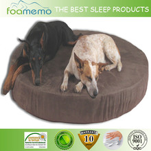 colorful round shape pet dog bed