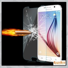 0.3mm Premium Tempered Glass for Samsung Galaxy S6 G920F 9H Hard 2.5D Arc Edge Transparent Screen Protector with Clean Tools