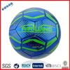 Machine stitched mini metallic PVC plastic soccer ball