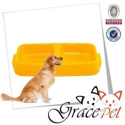 Grace Pet Plastic Double Dog Bowl Pet Supplies