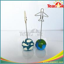 Ball shape memo clips /picture clip holder