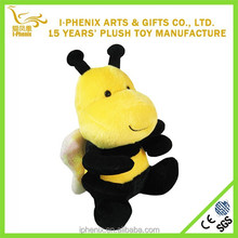 Yellow Fat Bee Toy Plush Children Bee Toy Wholesale