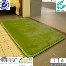 WX CCF brand 100% polyester bath mats