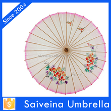 high quality Chinese oil paper wedding gifts for guest umbrella top and branded umbrella from China
