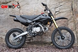 chinese bike Racing motorcycles 140CC black dirt bike pit bike
