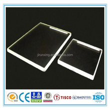 Bright surface X ray protection glass