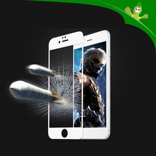 Artistic and High quality cover plate full cover tempered glass screen protector for 6 plus