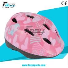 Fasy ce kid bike helmet series, helmet kids adjustable, sport helmets for girl