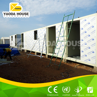Well-designed heatproof export prefab container house for refugees