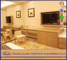 oak AL-0509 solid wood simplify hilton hotel furniture living room/bedroom TV cabinet