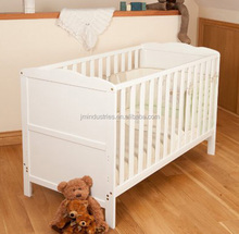Wholesale new born safty wooden mobile baby cot