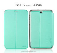 """New colorful stylish tablet pu flip leather cover case for lenovo a7-50 a3500 7"""""""