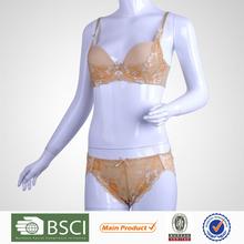 New Products Popular Hot Lady Push Up Sex Bf Bra Panty Set