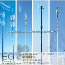 GSM/WCDMA/4G Monopole Torre de las Telecomunicaciones
