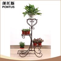 China supplier metal flower holder wedding decorations wholesale